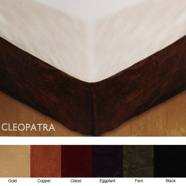Shop Smith And Johnson Cleopatra Bedskirt Free Shipping On Orders Over 45 Overstock Com