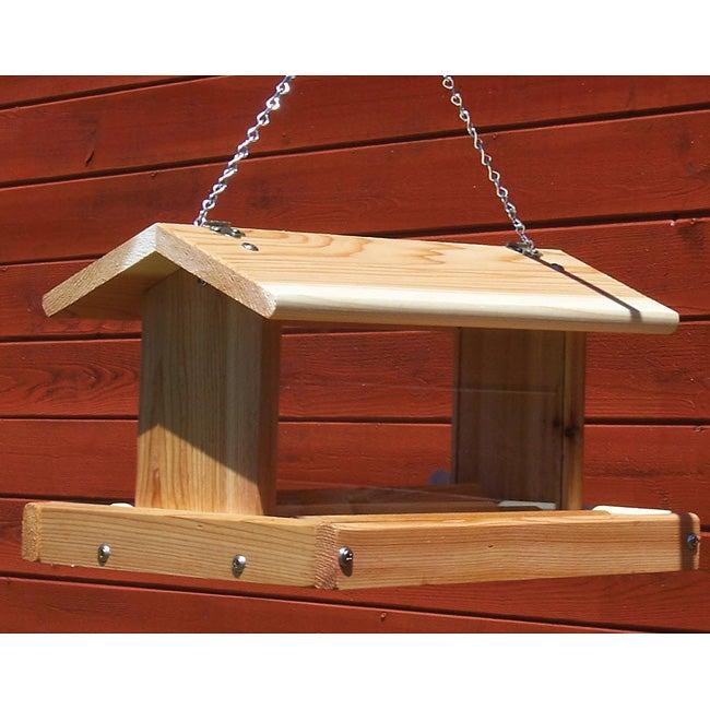Stovall Medium Mixed Seed Hanging Birdfeeder