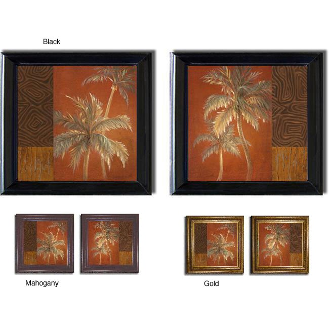 Lanie Loreth 'Bon Voyage Square' 2-piece Framed Canvas Art Set