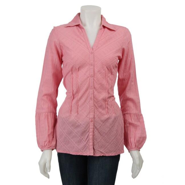 DCC Women's Textured Shirt