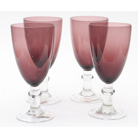 Certified International Amethyst 16-oz Goblets (Set of 8)