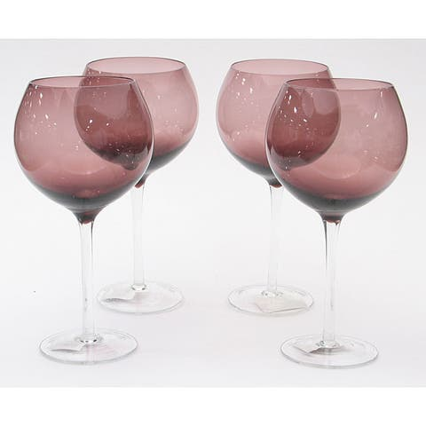 Certified International Amethyst 28-oz Red Wine Glasses (Set of 8)