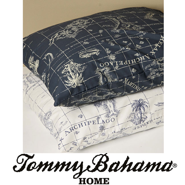 Tommy Bahama Relax Map 300 Thread Count Sheet Set
