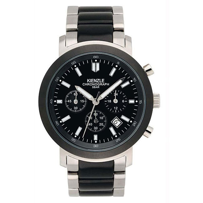 Kienzle Men's Chronograph Classical Stainless Steel Watch