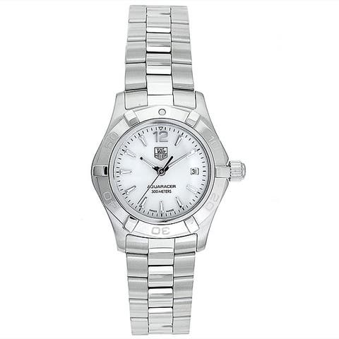 Tag Heuer Women's WAF1414.BA0812 'Aquaracer' Stainless Steel Watch