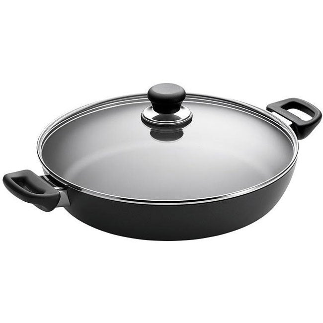 Scanpan 12.5-inch Saute/ Chef Pan with Lid