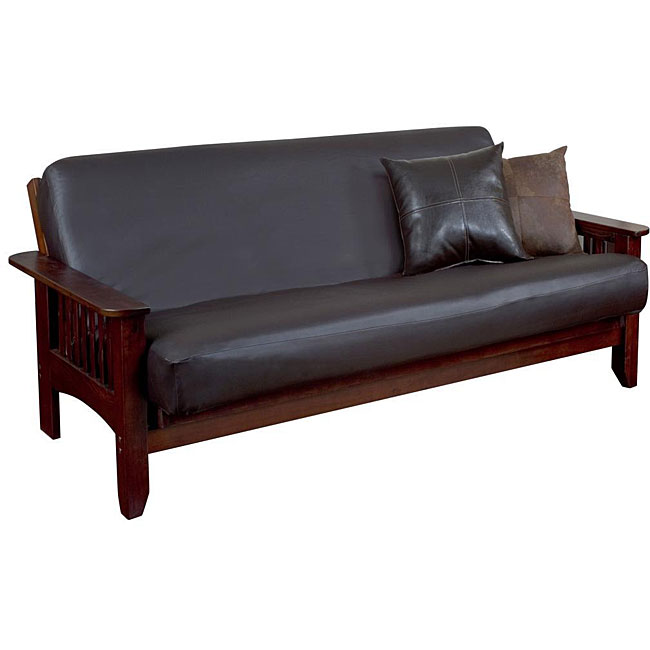 Faux Leather Futon Cover