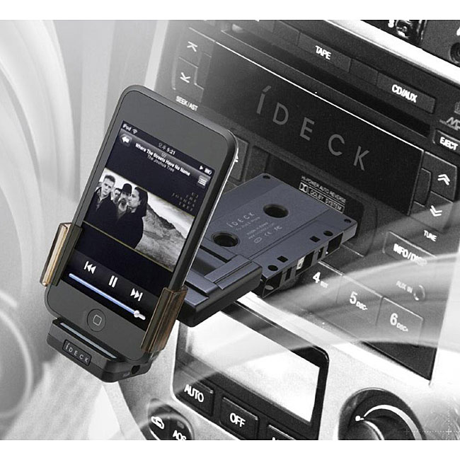 iDeck Integrated Cassette iPod Adapter