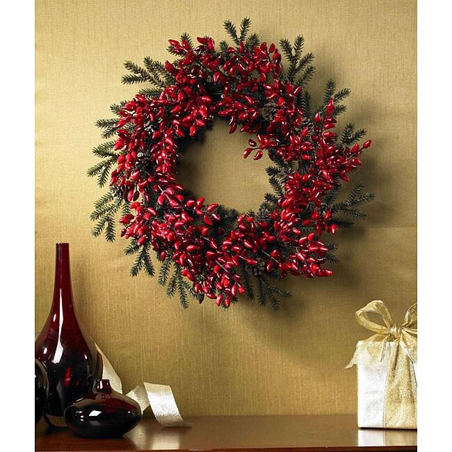 Chili Pepper 24-inch Wreath