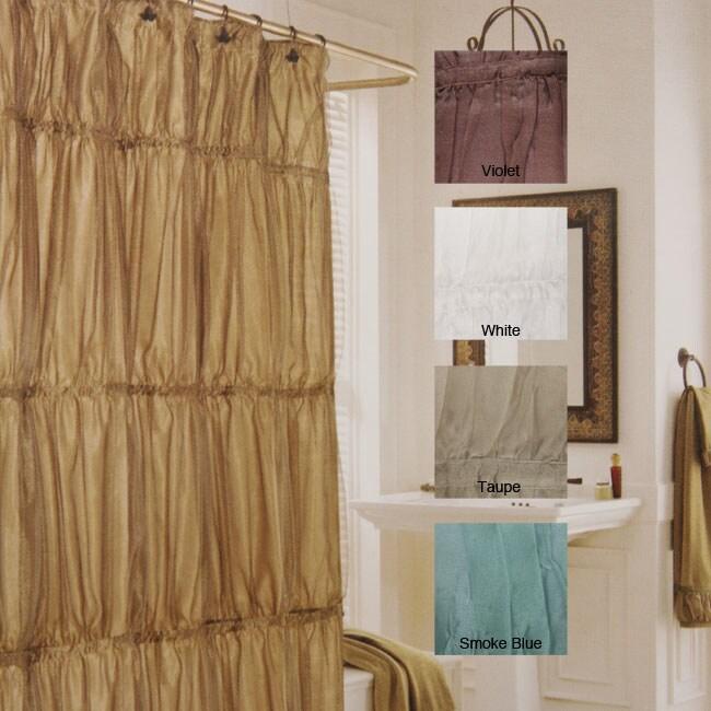 Illumination Crinkle Shower Curtain