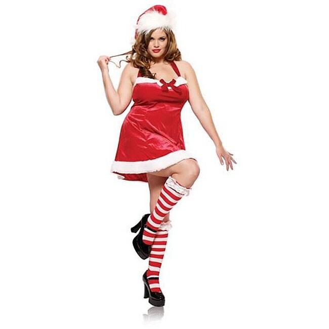 Leg Avenue Plus Size Sexy Santas Little Helper Costume -8361