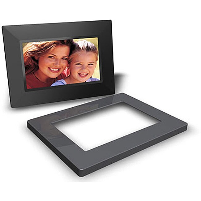 Shop Shomi Black 7 Inch Digital Picture Frame Free Shipping On