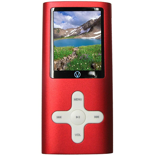 Visual Land VL-577k VL-G4 8GB Red MP3 Player
