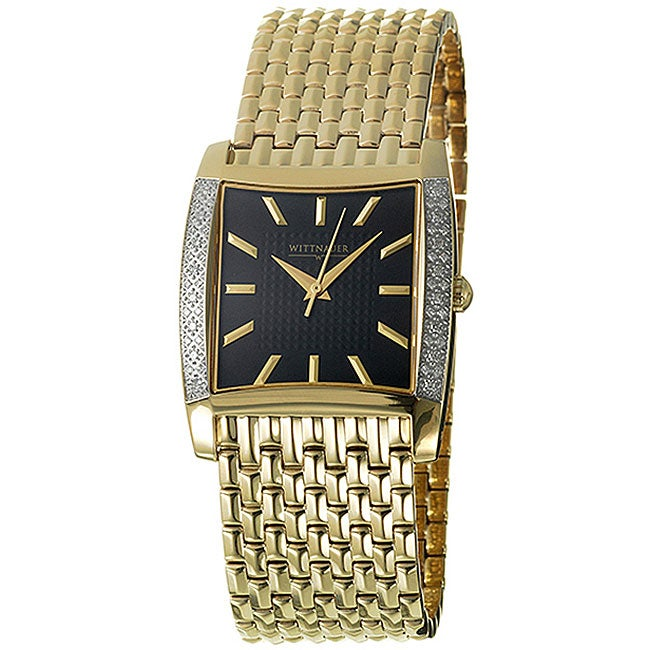 Wittnauer Men's Metropolitan Goldplated Watch