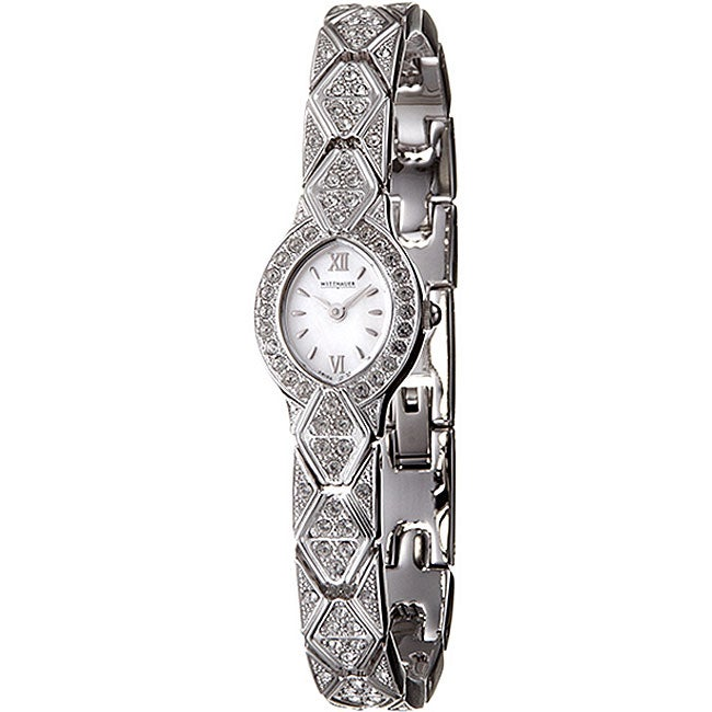 Wittnauer Women's Crystal Stainless Steel Watch