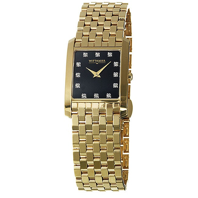 Wittnauer Men's Biltmore Goldtone Stainless Steel Watch
