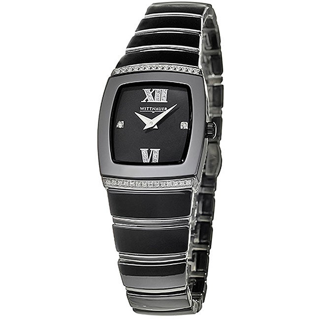 Wittnauer Ceramic Women's Ceramic and Steel Watch
