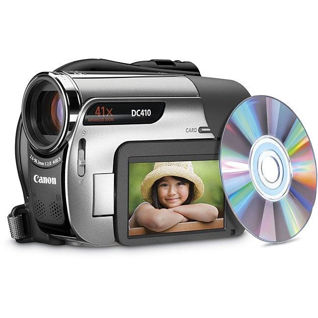 shop canon dc410 sd dvd camcorder value kit free shipping today rh overstock com Canon EOS Canon EOS