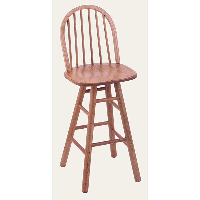 York High Spindle Back 30 Inch Counter Swivel Stool With