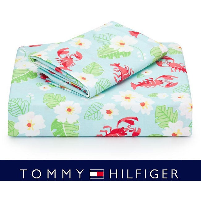 Tommy Hilfiger Coral Springs Lobster 4-piece Sheet Set (Full/Queen)