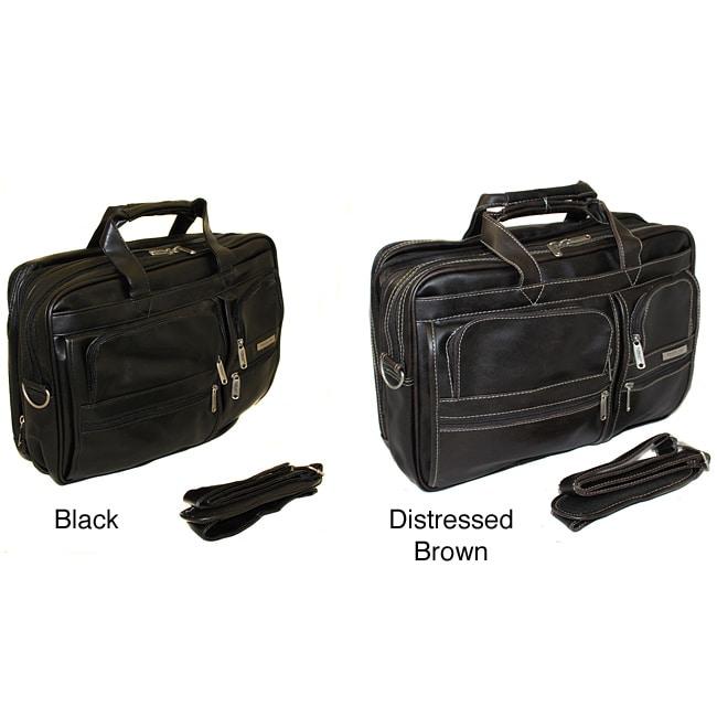Overland Executive Expandable Portfolio Laptop Case
