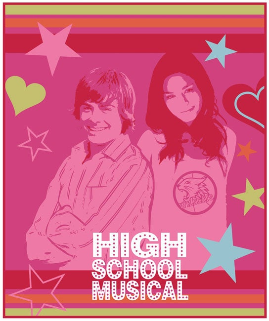Disney's High School Musical Throw Blanket