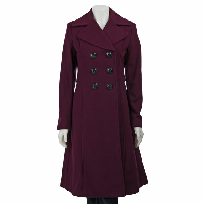 Laundry by Shelli Segal Women's Long Wool Coat