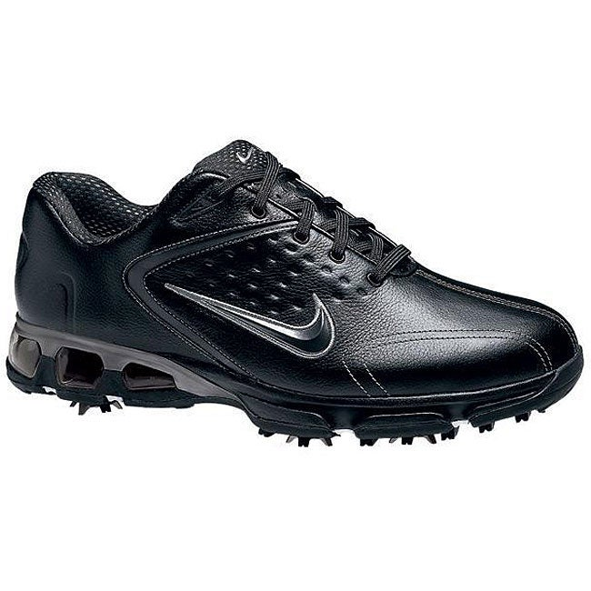 5c9633795a3f4a Shop Nike Men s Black  Charcoal Air Max Rejuvenate Golf Shoes - Free  Shipping Today - Overstock - 4332869