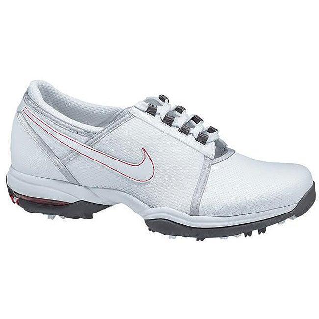 Nike Ladies' Air Summer White/ Silver Golf Shoes ...