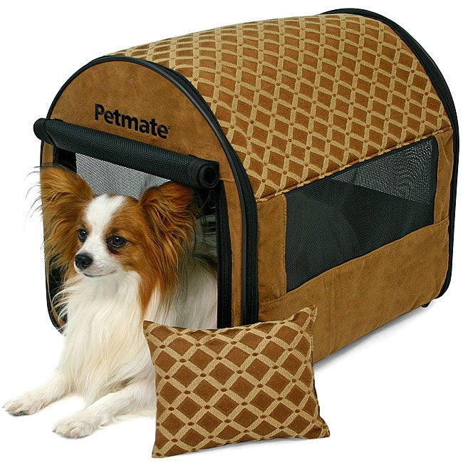 Pet Shelters Pop Up : Petmate small portable pet home pop up shelter free
