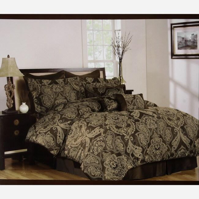 Huntington Natural 8-piece Comforter Set