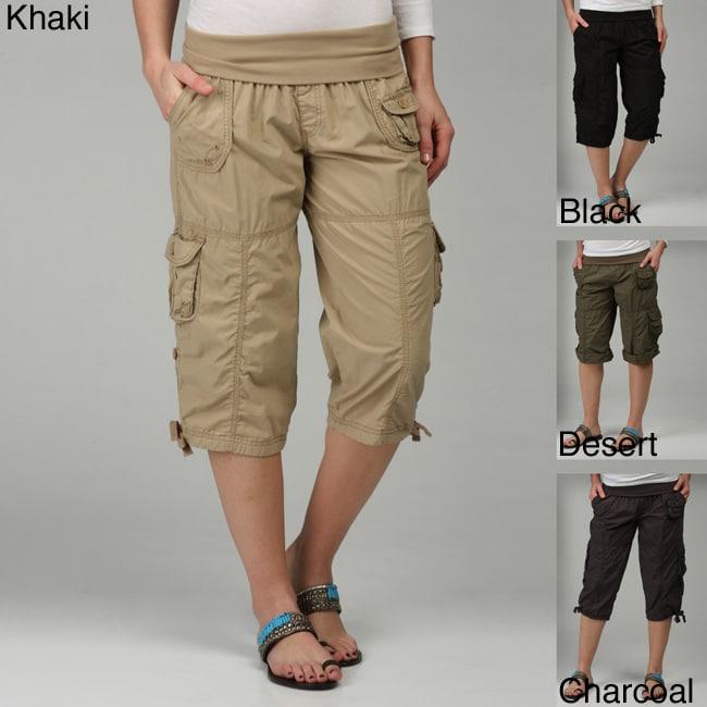 Calvin Klein Performance Women's Cargo Capri Pants - Free Shipping ...