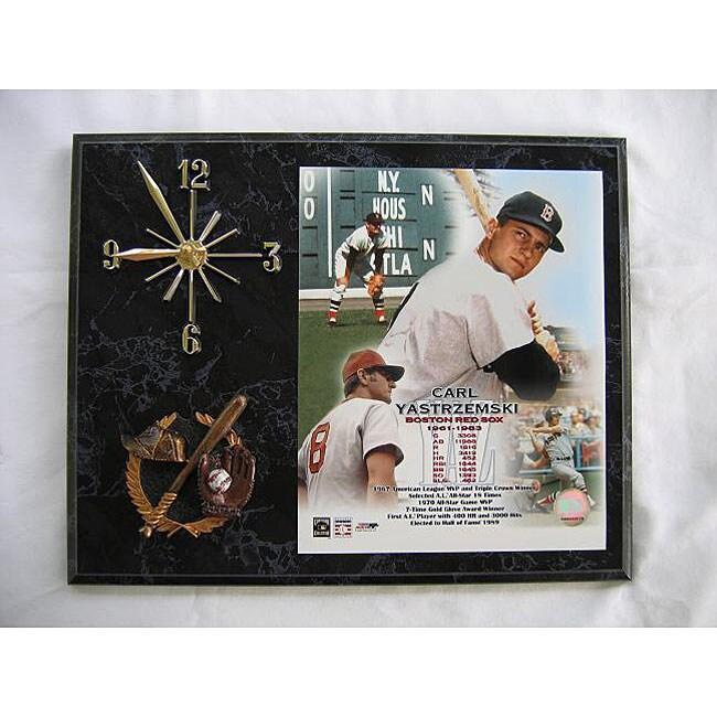 Carl Yastrzemski Legends of Baseball Wall Clock