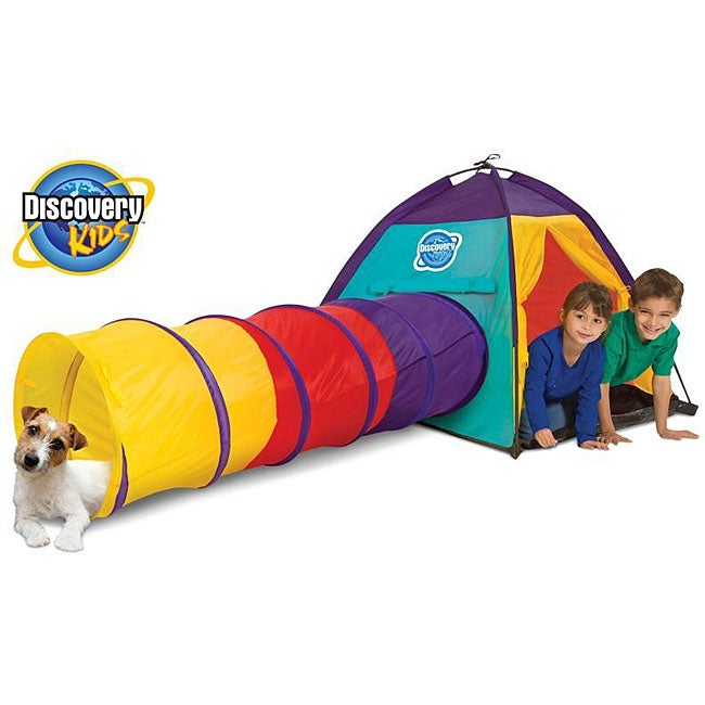 Toys for Tots: Discovery Kids 2-piece Adventure Play Tent