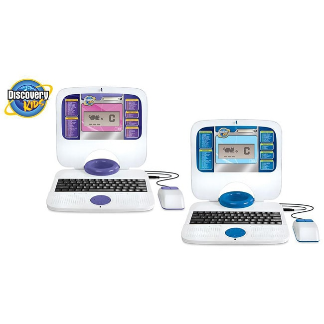 Toys for Tots: Discovery Kids Teach-n-Talk Activity Laptop