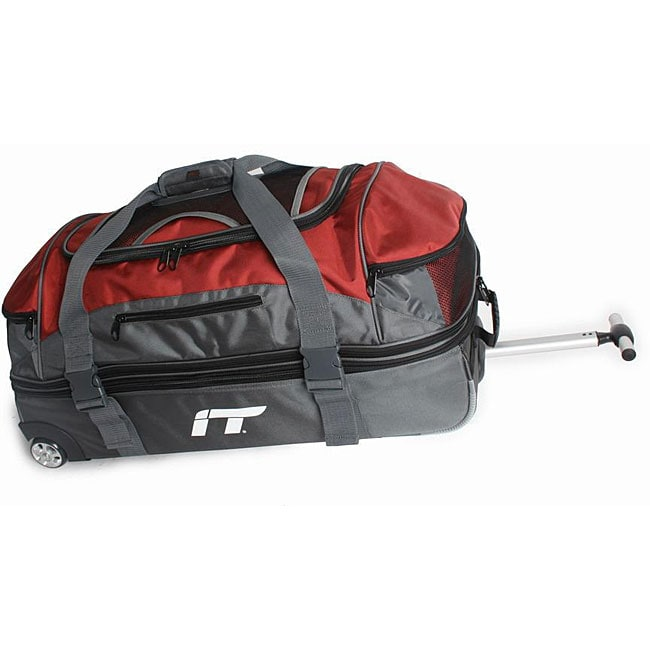 International Traveller Split Case Wheeled Nylon Duffel
