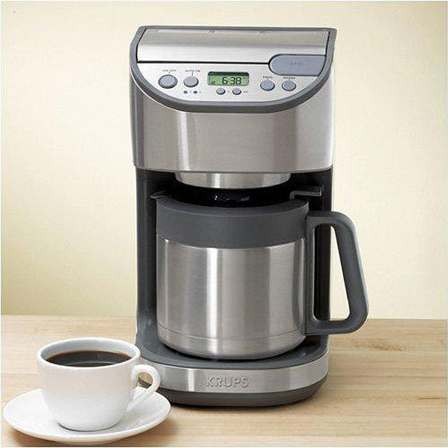 Krups Kt4065 10 Cup Thermal Coffee Maker Free Shipping