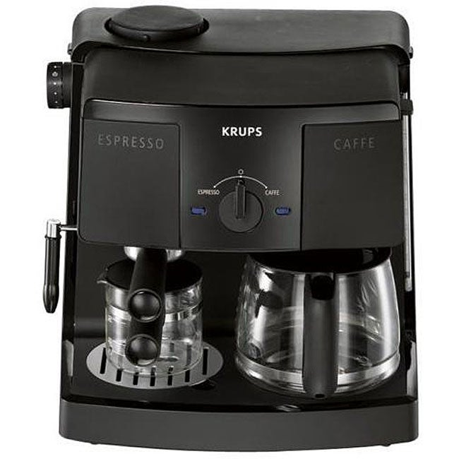 krups xp4030 coffee espresso combo machine free. Black Bedroom Furniture Sets. Home Design Ideas