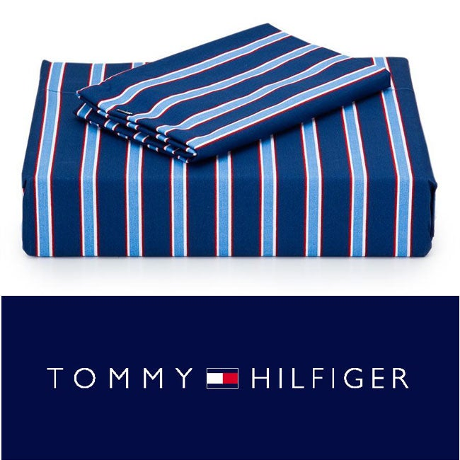 Tommy Hilfiger Christopher 200 Thread Count 3-piece Sheet Set