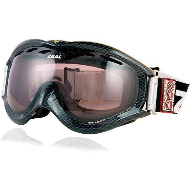 Zeal Optics Detonator SPP Full Light Carbon Goggles