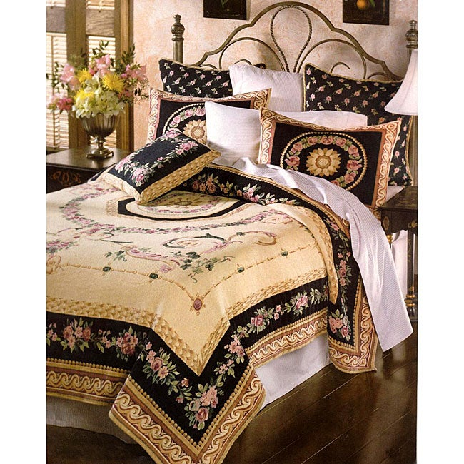 Charlemagne Tapestry Coverlet Set
