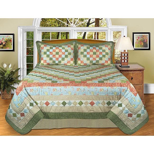 Ashley Handcrafted 3-piece Bedspread Set