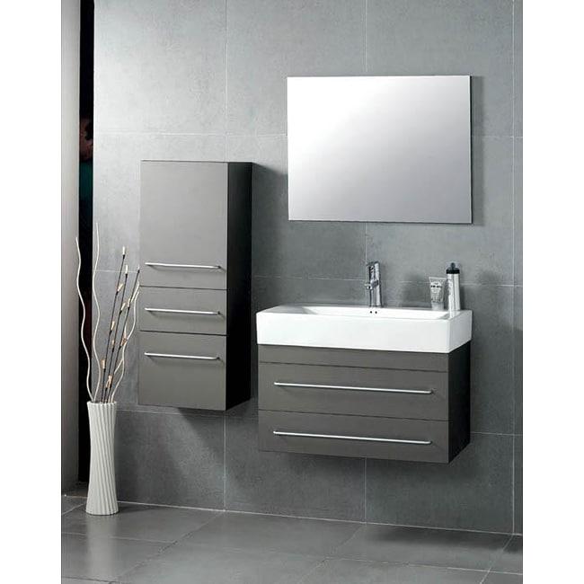 28 Inch Bathroom Vanity With Sink: Shop Jezebel 28-inch Single-sink Bathroom Vanity Set