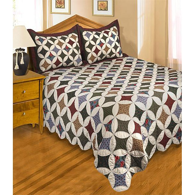 Harper's Inn All Cotton Bedspread