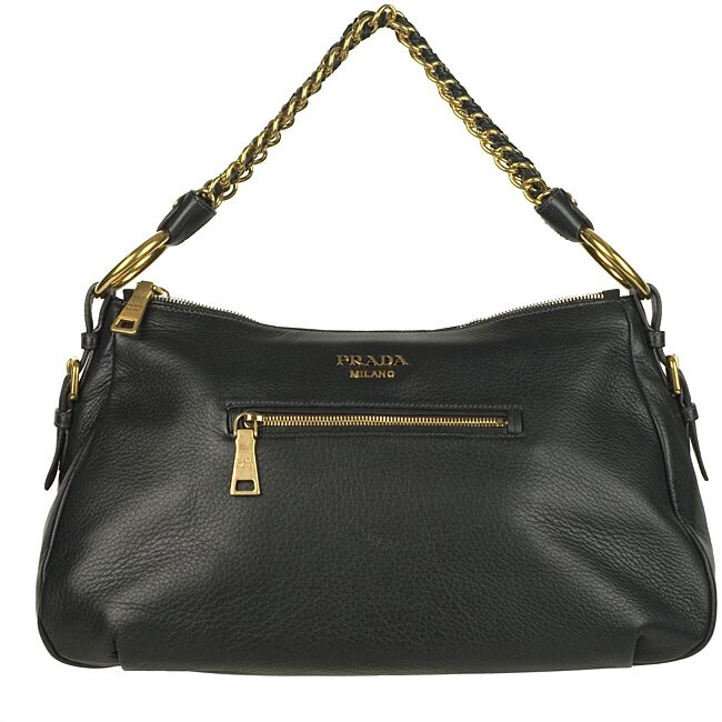 3bcf6fbd5e91 Shop Prada Cervo Dark Green Hobo-style Bag - Free Shipping Today ...
