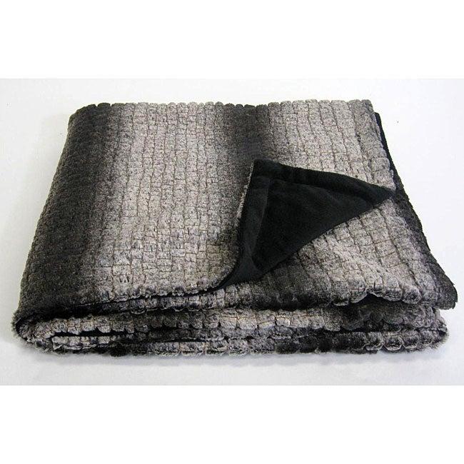 Alligator Microplush Throw Blanket