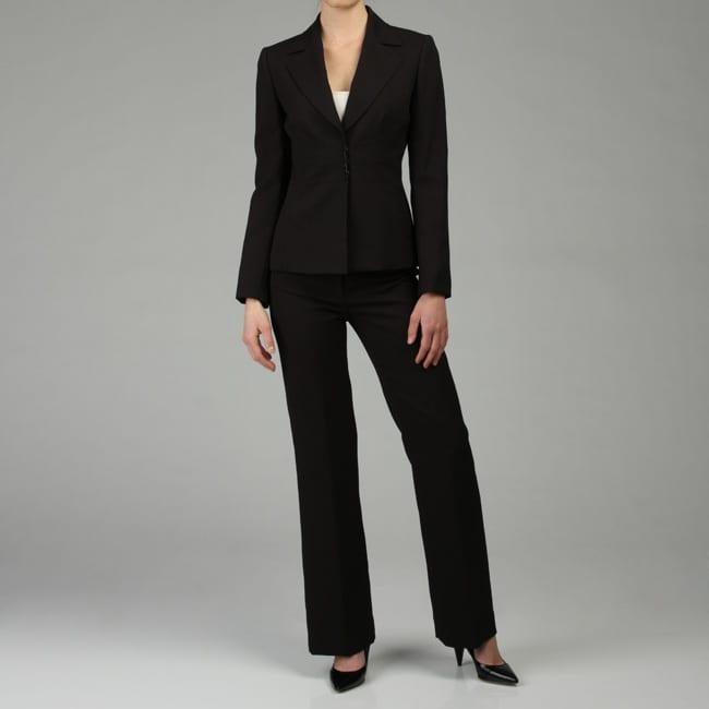 Tahari ASL Women's Black Pant Suit - Free Shipping Today ...