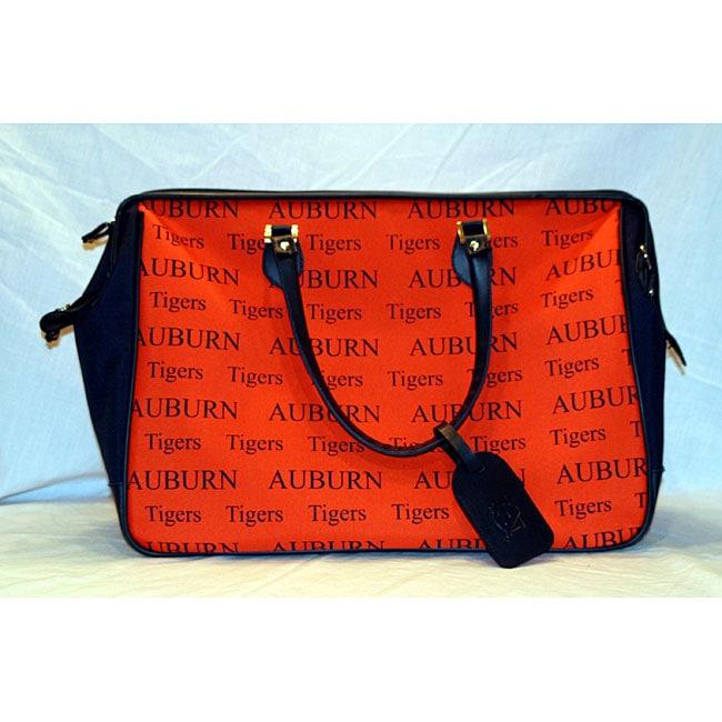ae5e9dbb62 Shop Auburn University Orange  Blue Overnight Bag - Free Shipping On Orders  Over  45 - Overstock - 4359165