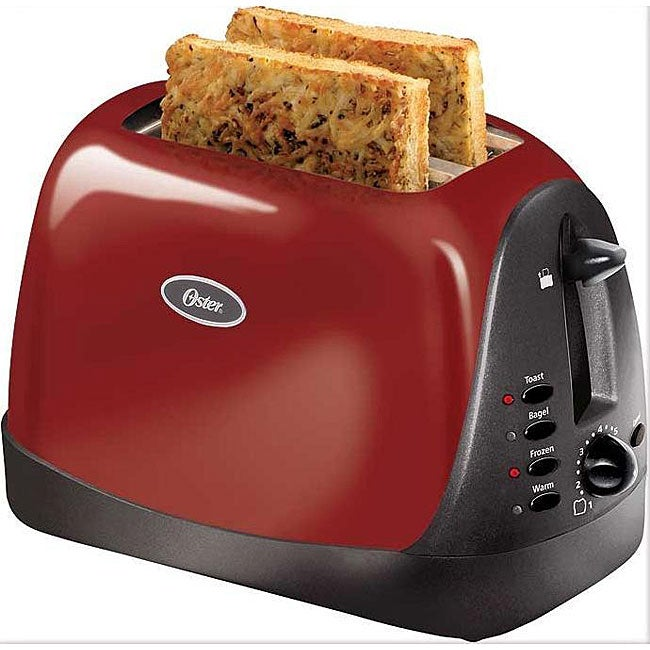 Oster 2 Slice Toaster Red At Oster Com: Oster Inspire 2-slice Red Toaster