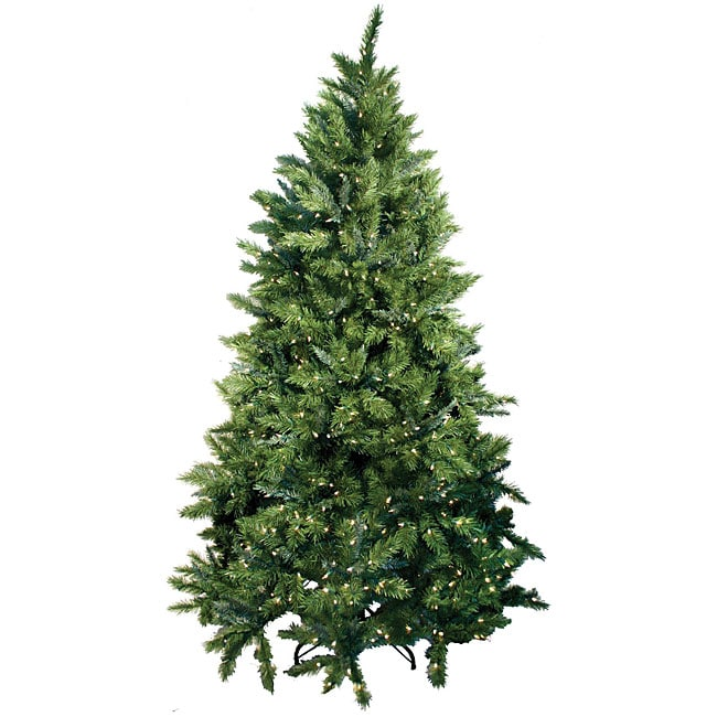 Calgary Spruce Pre-lit 9-foot Artificial Christmas Tree - Shop Calgary Spruce Pre-lit 9-foot Artificial Christmas Tree - Free